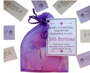 30th Birthday Quotes Gift of Positivity, Laughter and Inspiration