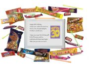 30th Birthday Sweet box with poem on lid - An excellent alternative to a card