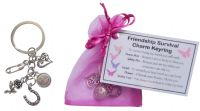 Friendship Survival Charm Keyring - Handmade Friendship Gift for Friendship