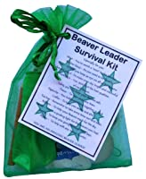 Beaver Leader Survival Kit Gift  - Great present for Christmas, end of term, leaving gift, thank you gift or just because.