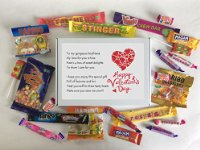 Boyfriend Valentines Day Sweet Box - Great Valentine's Day Gift!