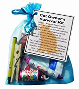 Cat Owner's Survival Kit  - Novelty gift for Cat owner, Cat Owners Secret Santa gift, Cat gifts, Cat Secret Santa Gifts, Cat Lover gifts, Gifts for Cat Owner