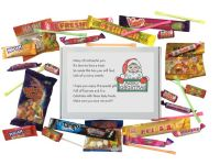 Christmas Sweet Box with poem-An excellent Christmas gift / stocking filler