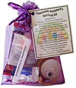 Classroom Assistant Survival Kit Gift  - Great present for Christmas, end of year or just because...
