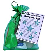 Cub Leader Survival Kit Gift  - Great present for Christmas, end of term, leaving gift, thank you gift or just because.