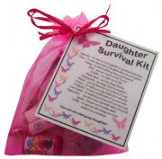 Daughter Survival Kit Gift-Great present for Birthday, Christmas or just because?