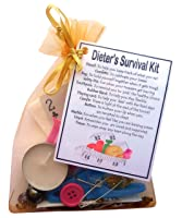 Dieter's Survival Kit  - Novelty gift for dieter, weight loss gift, diet motivation, dieting gift, funny diet gift
