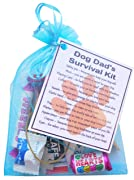 Dog Dad's Survival Kit  - Novelty gift for Dog Dad, Dog Dad Secret Santa gift, Dog gifts, Dog Secret Santa Gifts, Dog Owner gifts, New Dog Gift