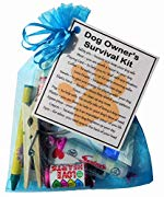 Dog Owner's Survival Kit  - Novelty gift for Dog owner, Dog Owners Secret Santa gift, Dog gifts, Dog Secret Santa Gifts, Dog Lover gifts, Gifts for Dog Owner