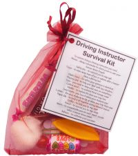 Driving Instructor Survival kit - great small gift for a driving instructor -