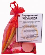 Engagement Survival Kit-An excellent alternative to a card