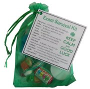 Exam Survival Kit - great novelty gift for any exam  - e.g. GSCE, A-Levels, University Exams, Professional Exams