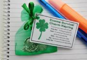 Exams Survival Charm Keyring - Handmade good luck gift for exams, GCSE's, A-Levels, University tests, Good Luck gift, Student gift exam gift