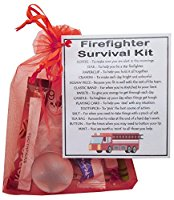 Firefighter Survival Kit Gift  - fireman gift, firefighter gift, fireman gift for new firefighter, secret santa fireman
