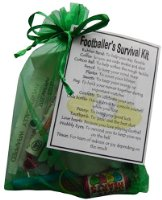 Footballer's Survival Kit Gift  - Small Novelty gift