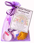 Foster Parent Survival Kit  - Novelty Gift for a Foster parent, foster mum, foster dad, fostering gift