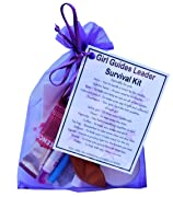 Girl Guide Leader Survival Kit Gift  - Great present for Christmas, end of year or just because.