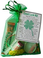 Good Luck Kit Gift  - Great mini novelty good luck gift for any situation