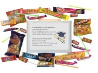 Graduation sweet box gift for any occasion. -  Great gift to say congratulations to a graduate.
