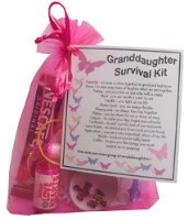 Granddaughter's Survival Kit Gift  - Great present for Birthday, Christmas or Mothers Day