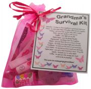 Grandma's Survival Kit Gift - Great present for Birthday, Christmas or just because...