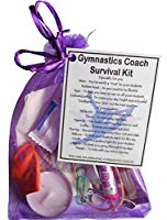 Gymnastics Coach Survival Kit Gift  - Great present for Christmas, end of year or just because...