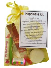 Happiness Kit Gift  - Great mini novelty gift to cheer up a friend or loved one