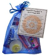 Health Visitor's Survival Kit - Great gift to thank a Health Visitor