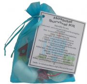 Hospital Survival Kit Gift - Small novelty good luck / get well soon gift