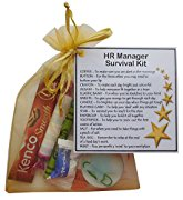 HR Manager Survival Kit Gift  - New job, work gift, Secret santa gift for HR manager, Human Resources Manager