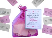 Mam Handmade MUM Gift Quotes of Positivity, Laughter and Loving Thoughts