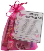 MAM's Survival Kit Gift  - Great present for Birthday, Christmas or Mothers Day