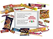 Merry Christmas GIRLFRIEND sweet box gift. Great Gift for Girlfriend. Gift for Christmas. Stocking Filler. -