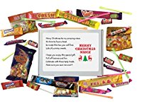Merry Christmas NIECE sweet box gift. Great Gift for Niece. Gift for Christmas. Stocking Filler. -