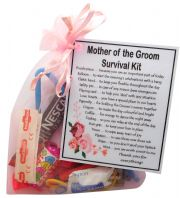 Mother of the Groom Survival Kit-A great sentimental gift