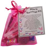 Nan's Survival Kit Gift - Great present for Birthday, Christmas or just because...