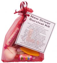 New Driver Survival Kit-A great gift for passing driving test