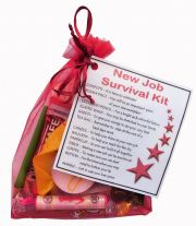 New Job Survival Kit Gift-The perfect way to say Congratulations