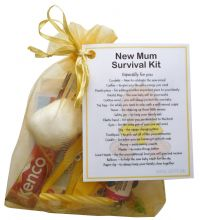New Mum Survival Kit Gift (Yellow)-A sweet gift for mum-to-be / baby shower