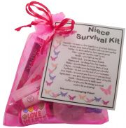 Niece Survival Kit Gift - Great present for Birthday, Christmas or just because...
