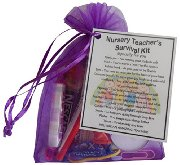 Nursery Teacher Survival Kit Gift  - Great present for Christmas, end of year or just because...