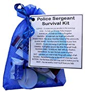 Police Sergeant Survival Kit Gift  - Funny Police Sergeant Gifts, Police Sergeant Secret Santa