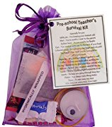 Pre School Teacher Survival Kit Gift  - Great present for Christmas, end of year or just because...