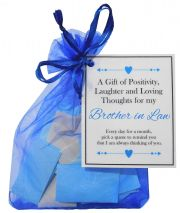 Handmade Brother in Law Gift Quotes of Positivity, Laughter and Loving Thoughts. 31 inspirational quotes for each day of the month. Letterbox friendly.