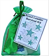 Scout Leader Survival Kit Gift  - Great present for Christmas, end of term, leaving gift, thank you gift or just because.