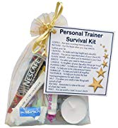 SMILE GIFTS UK Personal Trainer Survival Kit  - New job, work gift, Secret santa gift for Personal Trainer, Thank you Personal Trainer gift