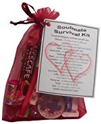 Soulmate Valentine's Survival Kit Gift  - Great novelty present for Valentine's day for him or her