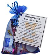 Surgeon's Survival Kit - Great gift for a doctor, doctor gift, gift for doctor, doctor present, present for doctor, thank you gift for doctor