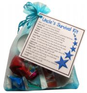 Uncle's Survival Kit Gift  - Great novelty gift!