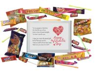 Valentine's Day Sweet Box-Nice gift for your Boyfriend, Girlfriend, Husband, Wife etc.